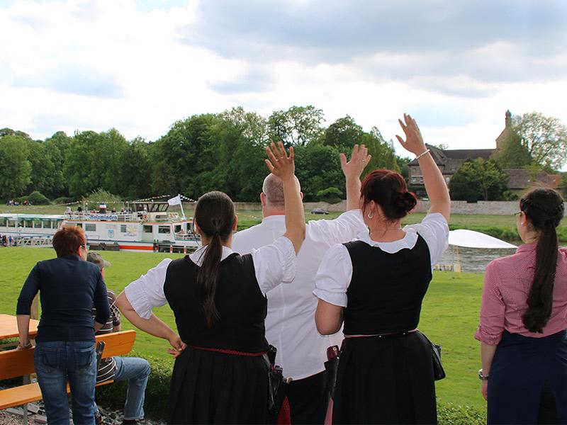 Hochzeitslocation Flotte Weser