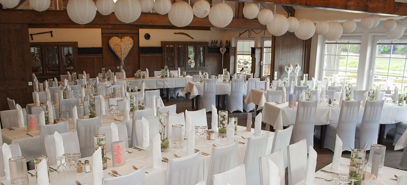 Großer Festsaal für Hochzeiten in Grohnde bei Hameln