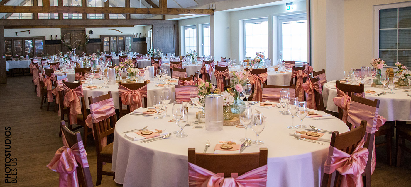 Saal für Hochzeitsfeiern Hameln Grohnde Emmerthal